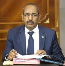 وزير الداخلية أحمد ولد عبد الله