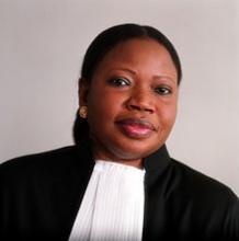 المدعي العام لدى محكمة الجنايات الدولية افاتو بنسوده.