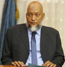 الوزير الأمين العام للرئاسة سيدنا عالي ولد محمد خونه (وما)