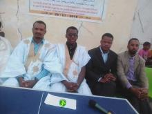 أعضاء المجلس الأعلى للشباب خلال حفل افتتاح الأمسية