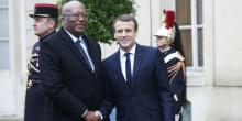 الرئيسان الفرنسي والبوركيني.