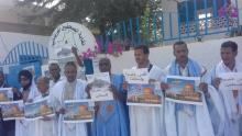 صحفيون في وقفة أمام مقر النقابة بنواكشوط
