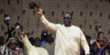 ماكي صال: الرئيس السنغالي.