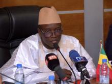 علي نغوي انجاي: وزير الداخلية السنغالي