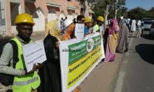 أعضاء من رابطة مستقبل المهندسين في احتجاجات أمام الرئاسة ـ (أرشيف الأخبار)