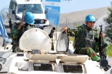 عنصرين من قوات حفظ السلام بساحل العاج.
