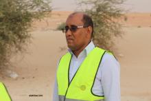 """العضو المؤسس في مبادرة """"معا للحد من حوادث السير"""" أحمد ولد بوسيف خلال حديثه للأخبار"""