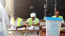 مكتب تصويت رقم 11 في مدرسة ابن سيناء بتفرغ زينة صباح اليوم (الأخبار)