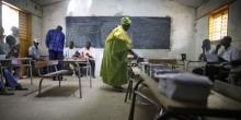 مكتب تصويت بالسنغال 2012