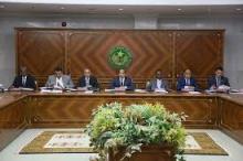 مجلس الوزراء خلال اجتماع سابق له (وما)