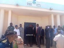 مقر مقاطعة السبخة بولاية نواكشوط الغربية بعد بدأ الاجتماع (الأخبار)