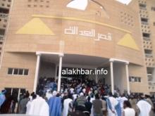 قصر العدل بمدينة نواذيبو شمال غرب موريتانيا حيث جرت وقائع المحاكمة (الأخبار - أرشيف)