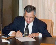 رجل الأعمال الموريتاني المقيم في الخارج محمد ولد بو عماتو