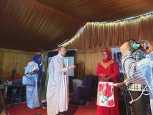استدعى النادي المترشحين للرئاسية وكان سيدي محمد ولد ببكر الوحيد الذي حضر