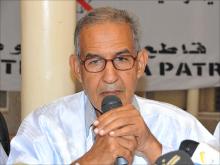 رئيس حزب تكتل القوى الديمقراطية أحمد ولد داداه (الأخبار - أرشيف)