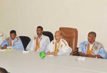 وزير التهذيب خلال اجتماعه مع رؤساء مراكز الامتحانات في عموم موريتانيا (وما)