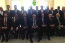 وزير الخارجية الموريتاني إسلك ولد أحمد إزيد بيه مع سلك الدبلوماسيين العرب في لندن (وما)