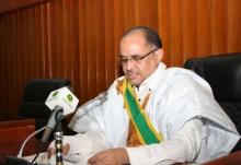 رئيس مجلس الشيوخ الموريتاني محسن ولد الحاج