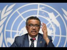 تيدروس أدهانوم غيبريسوس المدير العام لمنظمة الصحة العالمية.