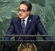 وزير الخارجية الموريتاني إسلك ولد أحمد إزيد بيه
