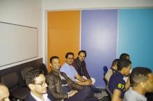 جانب من حضور الجمعية العمومية لجمعية الشباب الموريتاني في فرنسا