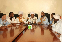 لجنة الأهلة خلال اجتماع سابق لها (وما)