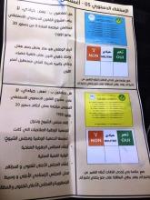 نموذج لبطاقات التصويت المعتمدة في استفتاء 5 أغسطس
