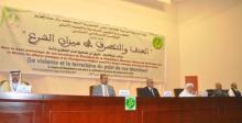 منصة افتتاح المؤتمر يوم 07 مارس الماضي في قصر المؤتمرات بنواكشوط (وما)