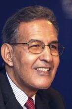 رئيس حزب تكتل القوى الديمقراطية، ونائب رئيس الأممية الاشتراكية أحمد ولد داداه