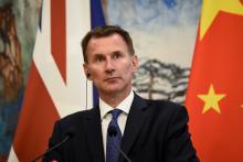 جيرمي هانت: وزير الخارجية البريطاني