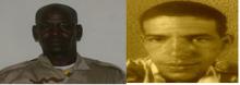 الرقيب أحمد يورة ولد بونه من كتيبة المدرعات الخفيقة، والمساعد أول يعقوب فرجو من مديرية الرياضة