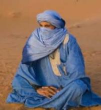 موريتاني بلثامه التقليدي