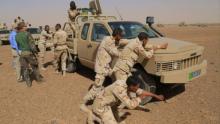 عناصر من الجيش الموريتاني خلال تدريب سابق