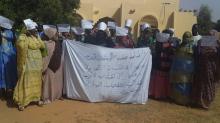 وقفة احتجاجية للعقدويين اليوم في مدينة كيهيدي عاصمة ولاية كوركل جنوبي البلاد