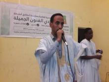 مسئول الثقافة بالجمعية  خلال افتتاحه لأنشطة النادي