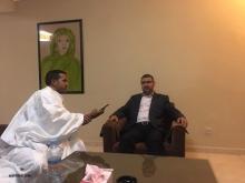 الناطق باسم حركة المقاومة الإسلامية حماس سامي أبو زهري خلال حديثه للأخبار