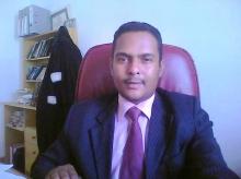 المحامي محمد المامي ولد مولاي اعلي عضو لفيف الدفاع عن السيناتور محمد ولد غده