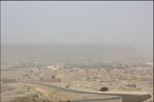 قرية عين أهل الطايع بولاية آدرار شمال البلاد