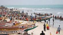 قوارب صيد سنغالية