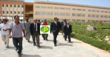 وفد حكومي في المباني الجديدة لجامعة نواكشوط شمالي المدينة