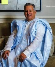 رجل الأعمال ولد بو عماتو في ابروكسل يوم 20 نوفمبر المنصرم (نشرت الصورة مع الصورة القلمية)