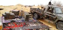 إحدى السيارات وبعض الأسلحة قالت الجماعة إنها تعود لجيش النيجر