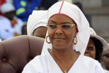 غريس موغابي: زوج الرئيس الزيمبابوي السابق روبيرت موغابي.
