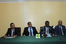 حفل افتتاح الدورة التكوينية بمباني المدرسة الوطنية للإدارة والصحافة والقضاء (وما)