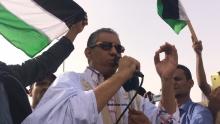 النائب البرلماني عن حزب الاتحاد من أجل الجمهورية الحاكم في موريتانيا محمد ولد ببانا خلال كلمته اليوم (الأخبار)