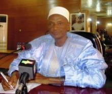 عبد الرحمن نيانغ رئيس محكمة العدل العليا في مالي.