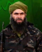 """أمير تنظيم القاعدة ببلاد المغرب الإسلامي عبد الملك ادرودكال المعروف بـ"""" أبي مصعب عبد الودود"""""""