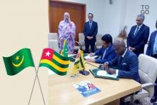 توقيع الاتفاق بنواكشوط.