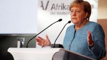 أنجيلا ميركل: المستشارة الألمانية.