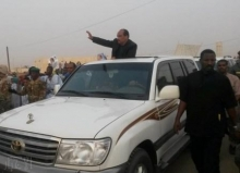 ولد عبد العزيز خلال زيارته لمدينة باركيول مساء يوم 21 أبريل 2015 ـ (أرشيف الأخبار)